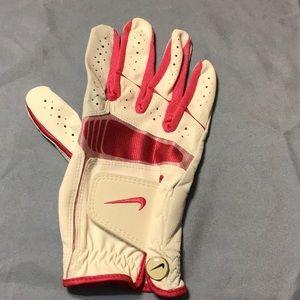 Nike Golf Glove Size-Large  Pink & White NWOT 😊